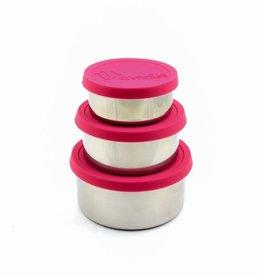 Snackdoosjes - 4 kleuren - set van 3