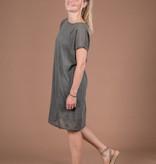 Luchtig jurkje - grijs/groen - Zusss