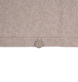 Fijngebreid luchtig jurkje -zand - 4 maten - Zusss