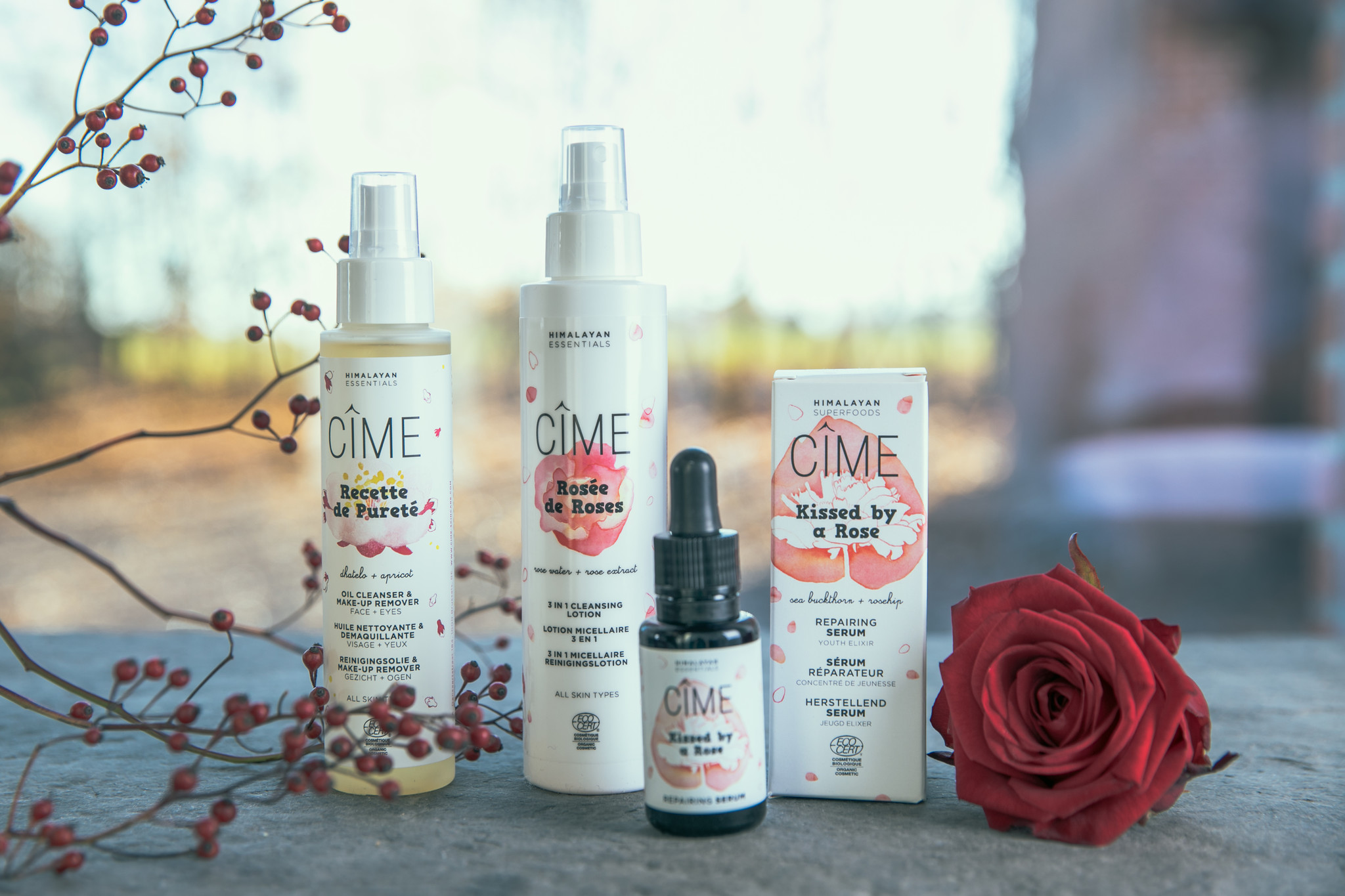 Herstellend serum - Kissed by a Rose - Cîme