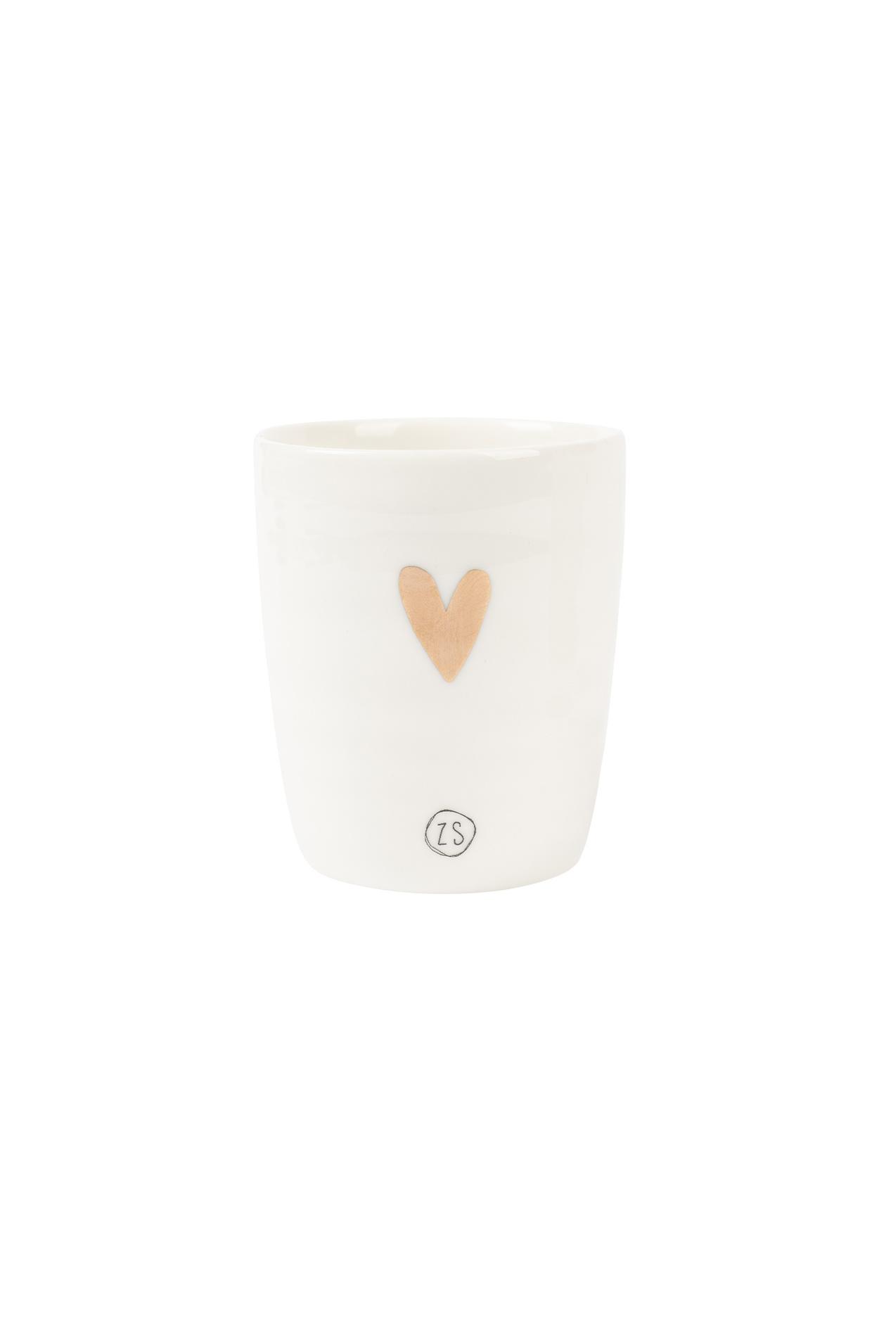 Espresso kopje - Gouden hart- Zusss