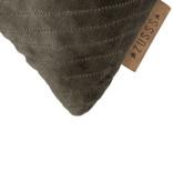 Kussen fluweel Visgraat - 45x45cm 2 kleuren - Zusss