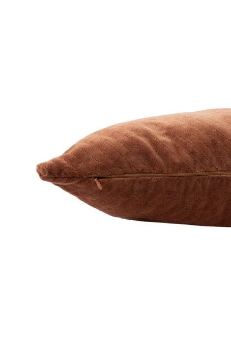 Kussen fluweel Visgraat - 30x50cm 2 kleuren - Zusss