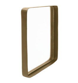 Spiegel metaal - vierkant 20cm - 2 kleuren - Zusss