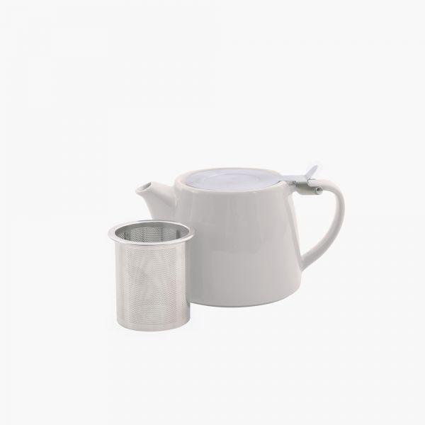 Theepot met thee infuser - 3 kleuren - Point Virgule