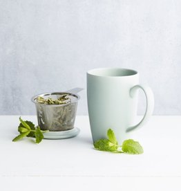 Mok met thee infuser en deksel - 3 kleuren - Point Virgule