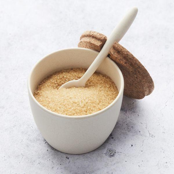 Suikerpot met lepel - Gebroken wit -Point Virgule