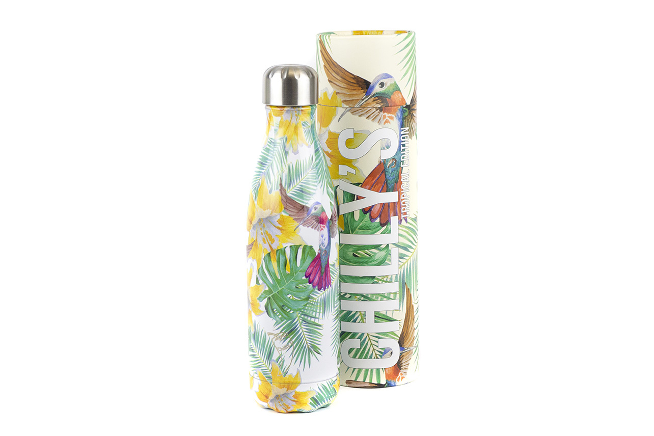 Chilly's Bottle Tropical Flower 500ml
