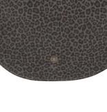 Half rond tasje - Leopard - Zusss