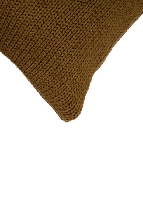 Kussen gebreid - 2 kleuren - Zusss