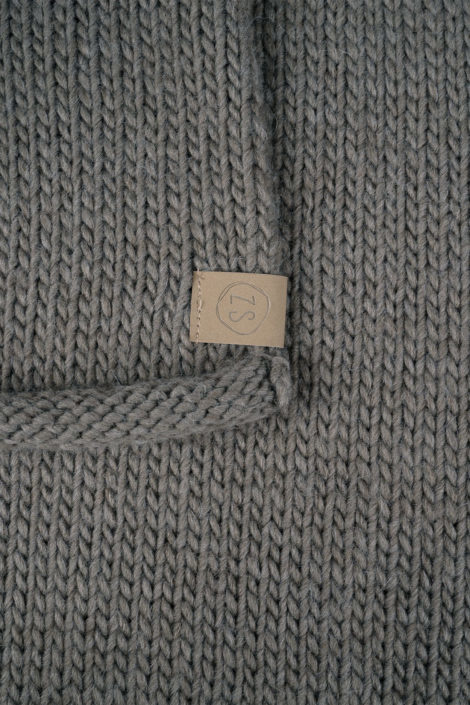 Gebreide sjaal - 2 kleuren - Zusss