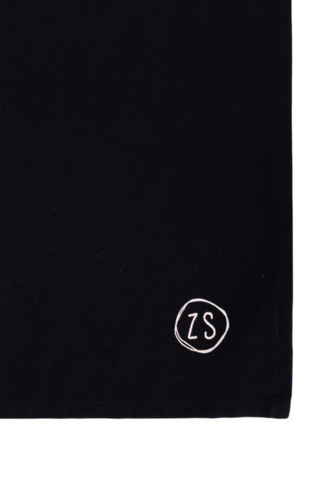 "Tafelkleed "" Gezelligheid"" - Zwart 300x150cm - Zusss"