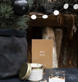 Kerstkaarten in houten doosje - Zusss