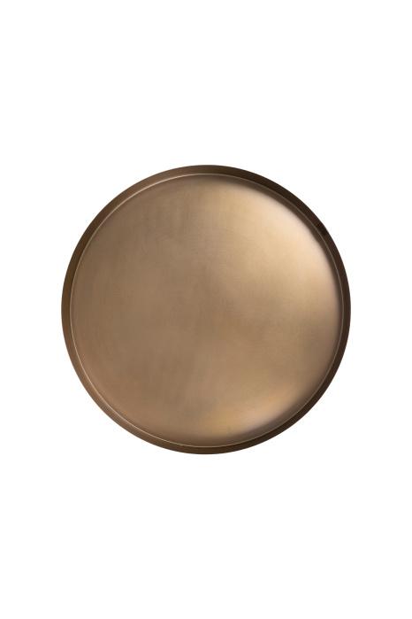 Dienblad/Stylingbord metaal 40cm - Brons - Zusss