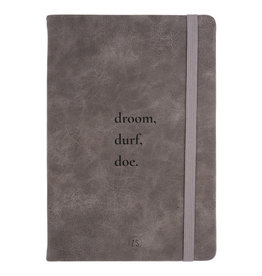 Notitieboekje - Droom - Kleigrijs - Zusss