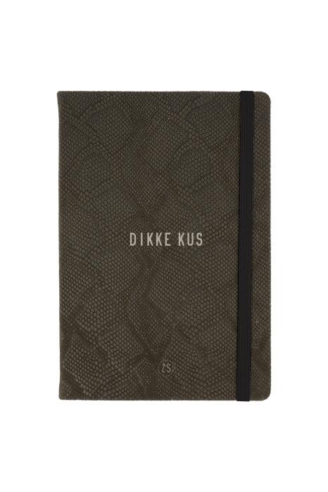 Notitieboekje - Dikke kus - Snake groen - Zusss