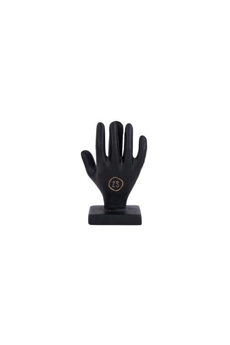 Kaartenstandaard metaal - Handje zwart - Zusss