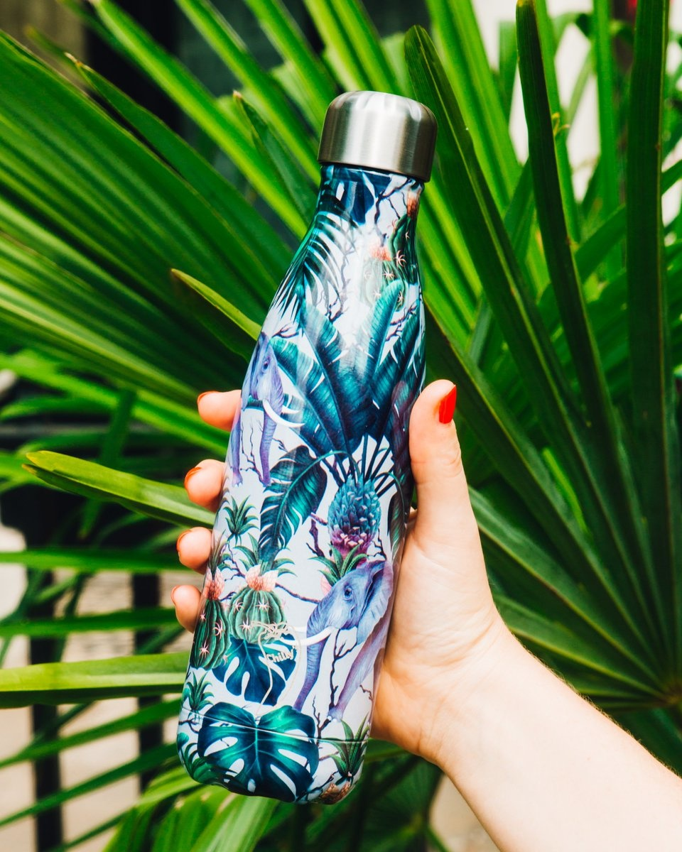 Chilly's Bottle Tropical Elephant 750ml