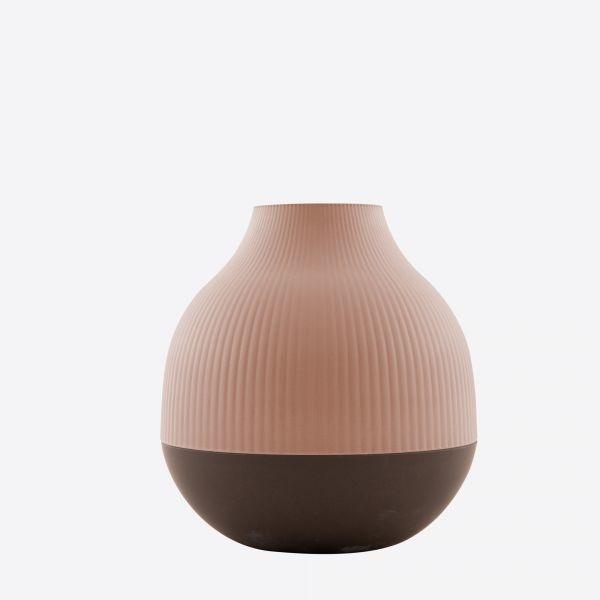 Vaas uit bamboevezel 18cm - 2 kleuren - Point Virgule