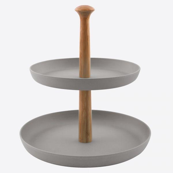 Etagère uit bamboevezel  - 2 kleuren - Point Virgule