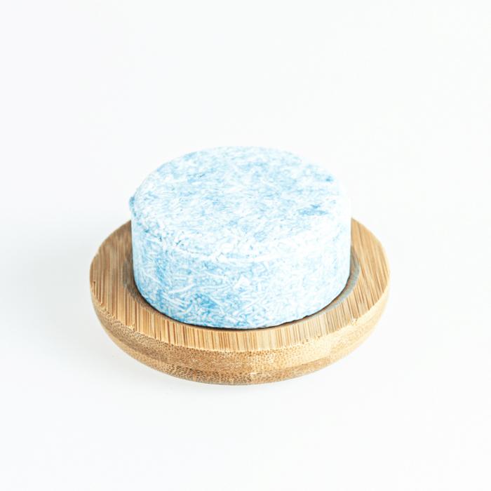 Shampoo Bar bamboe zeepschaaltje