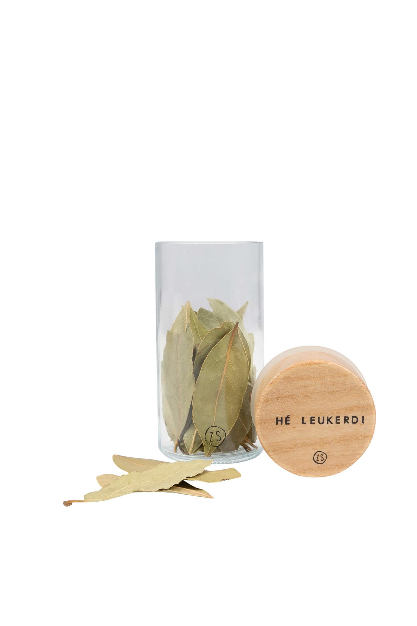 Kruidenpotje met houten deksel S - Zusss