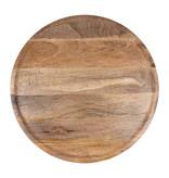 Houten bord 50cm mangohout Zusss
