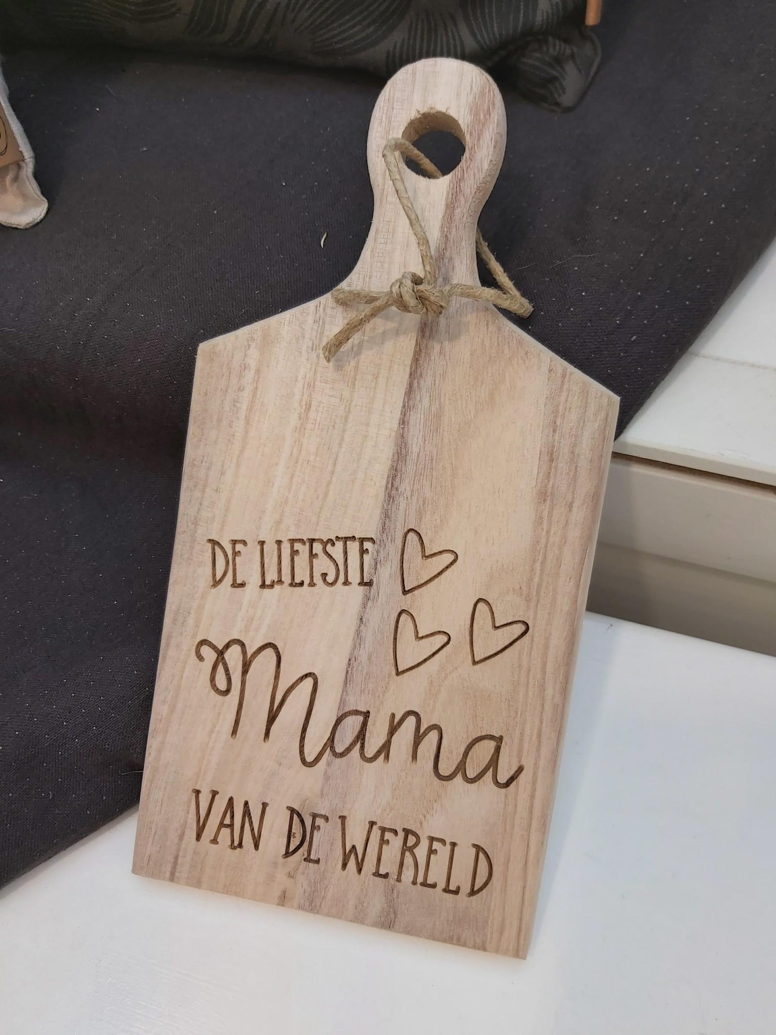 Broodplankje Mama