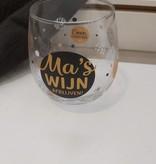 Glas Proost Ma's wijn