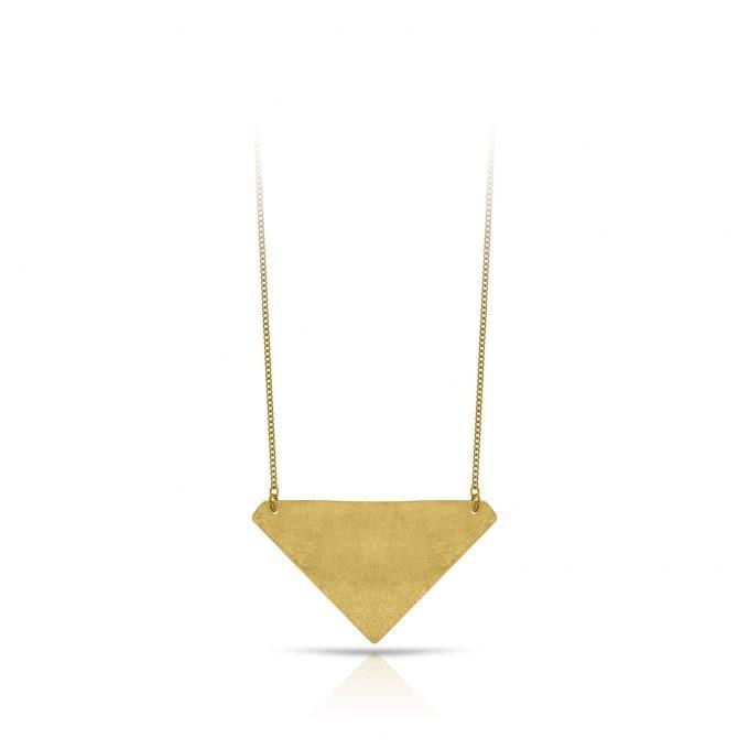Ketting Brass Triangle Inimini Homemade