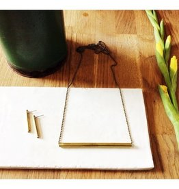 Ketting Brass Small Bar Inimini Homemade