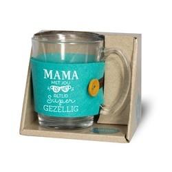 Theeglas -Mama
