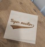 Supermeester speld in doosje