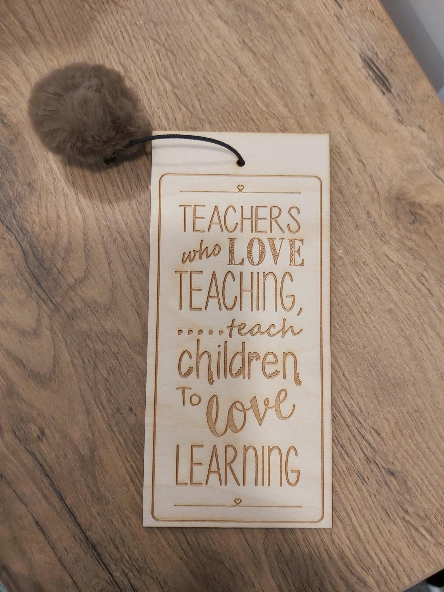 Boeklegger Teacher