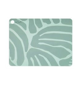 Set v 2 placemats Roa mint groen Oyoy