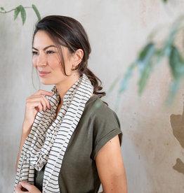 Sjaal streepjes zusss