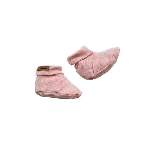 Babyslofjes - Roze melange