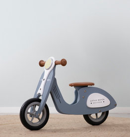 Loopscooter blauw Little Dutch