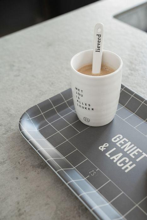 Koffiemok Met jou is alles leuker Zusss
