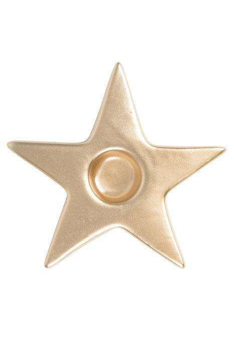 Kandelaar ster goud Zusss