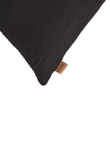 Kussen Wiebers zwart 30x50 Zusss
