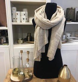Warme brei sjaal Zand Zusss