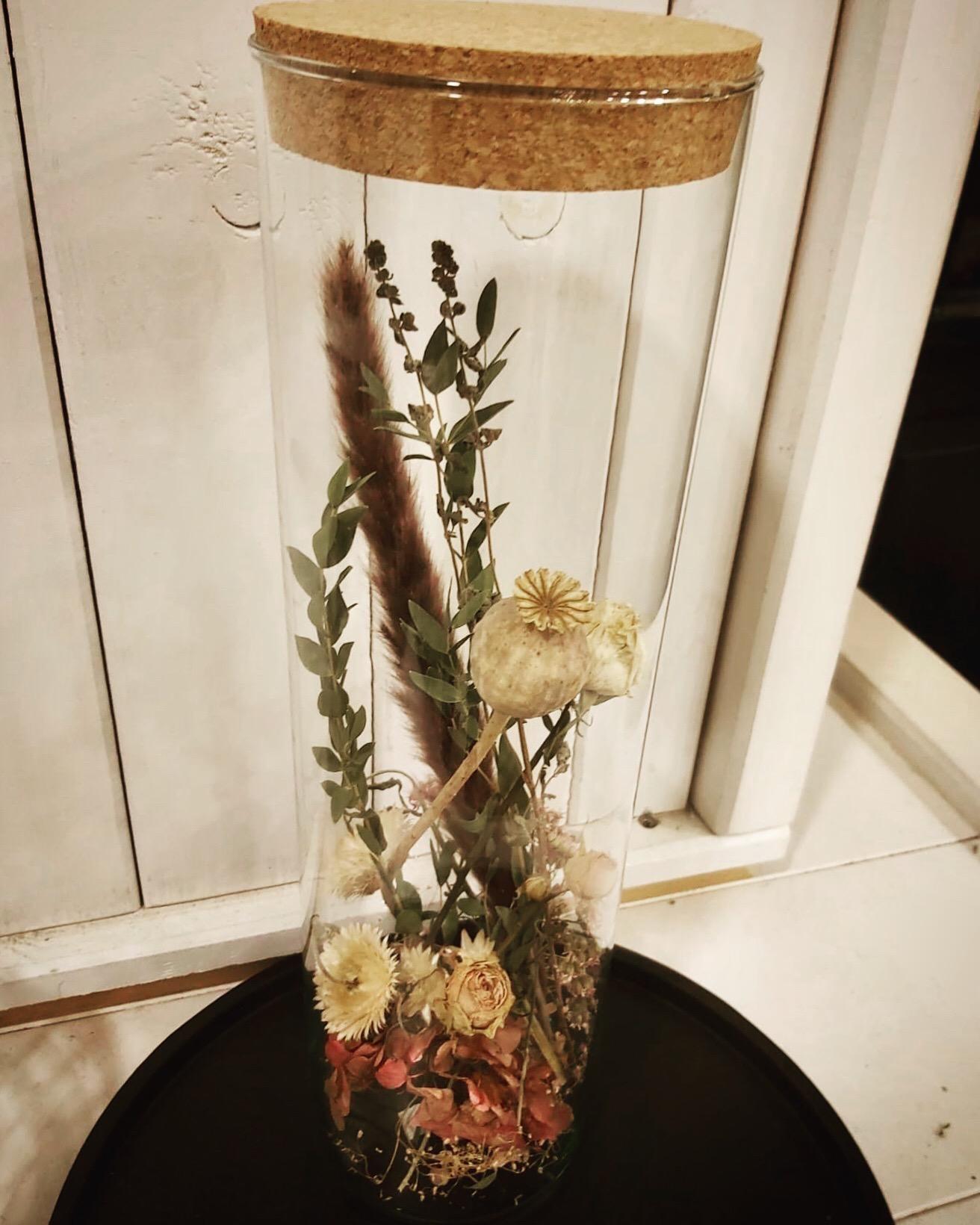 Droogbloemen vaas Large naturel