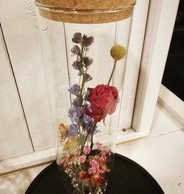 Droogbloemen vaas Large fleurig