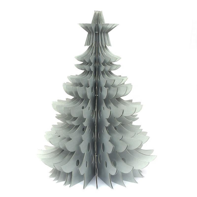 Kerstboom grijs OnlyNaturel 45cm