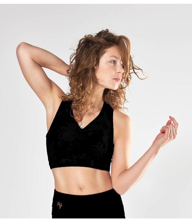 Urban Goddess Yoga Bra Top Ananda  - Urban Black