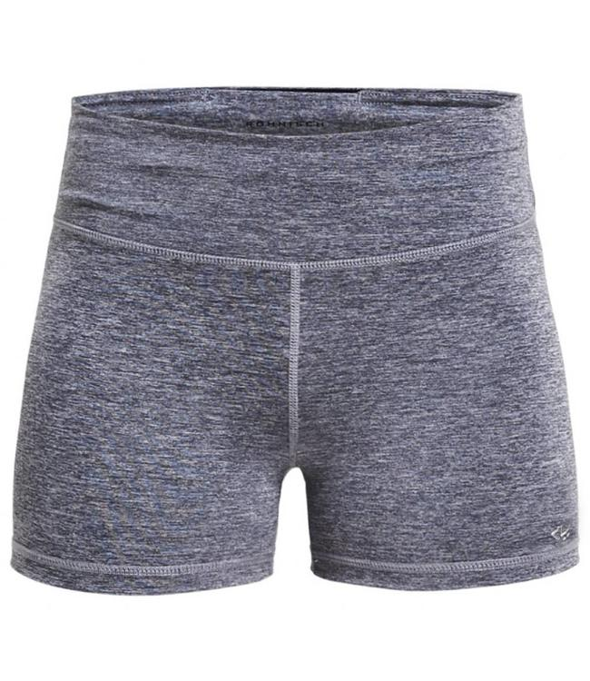 Rohnisch Yoga Hot Pants - Grey Melange