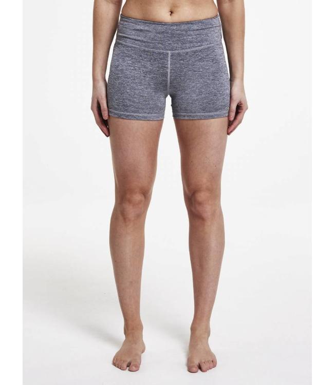 Rohnisch Yoga Hot Pants - Grey Melange