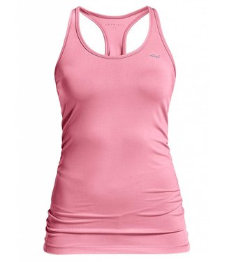 Rohnisch Yoga Top Long Racerback - Blush
