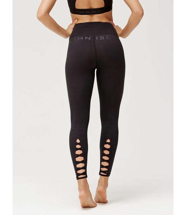 Rohnisch Yoga Legging Hatha Tights  - Black
